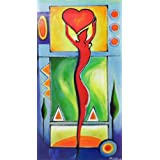 """Dolls Of India """"Love"""" Reprint On Paper - Unframed (58.42 X 33.02 Centimeters)"""
