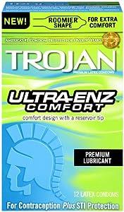 Trojan Ultra ENZ Comfort, 12 Count