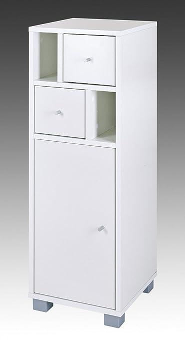 Schildmeyer 125773 Kommode, 31 x 96 x 33 cm, weiß