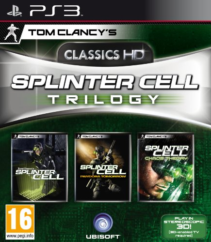 Splinter Cell Trilogy in HD (PS3) [Importacin inglesa]