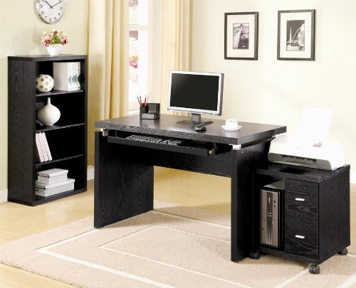 Buy Low Price Comfortable Coaster Company Peel Computer Desk With Keyboard Tray (B004T3CMRI)