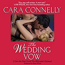 The Wedding Vow: Save the Date, Book 2 (       UNABRIDGED) by Cara Connelly Narrated by Karen White