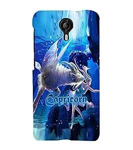 PRINTVISA Zodiac Capricorn Case Cover for Micromax Canvas NITRO 4G
