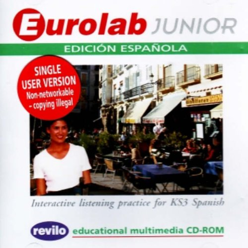 Eurolab Junior Edicion Espanola: Interactive Listening Practice for KS3 Spanish