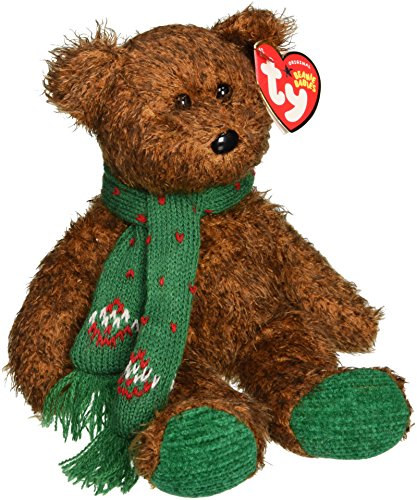 TY Beanie Baby - SEASON'S GREETINGS the Bear (Hallmark Gold Crown Exclusive)