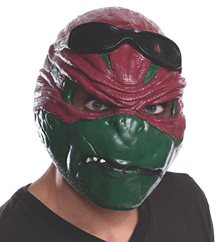 Rubie's Costume Men's Teenage Mutant Ninja Turtles Movie Raphael Adult 3/4 Mask