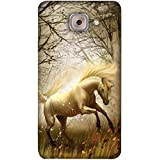 PrintVisa Designer Back Case Cover For Samsung Galaxy On Max (Race Racer Racehorse Run Dhawak)