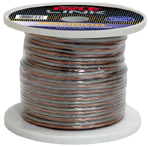 Pyle Psc12100 12-Gauge 100 Feet Speaker Wire