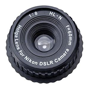 Holga 60mm f/8 Lens for Nikon DSLR Camera