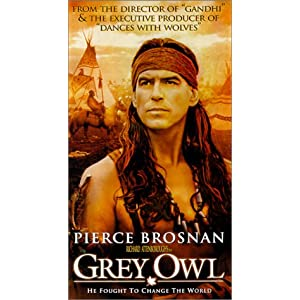 Grey Owl Import Pierce Brosnan Stewart Bick Vlasta