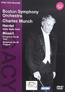 Händel/Mozart: Wasser Musik Suite/Sinfonien 36+38 [Alemania] [DVD]