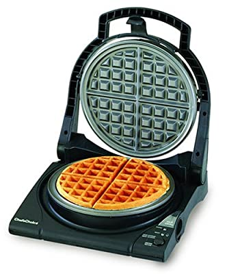 Chef's Choice M840 WafflePro Express Waffle Maker, Traditional Five of Hearts (Classic Belgian) by Chef's Choice