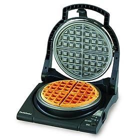 Chef's Choice M840B WafflePro Express Waffle Maker, Classic Belgian