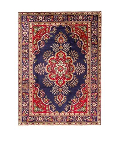 RugSense Teppich Persian Tabriz rot/blau/mehrfarbig 307 x 197 cm