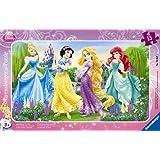 Ravensburger 06047 - Puzle (15 piezas), diseño de princesas