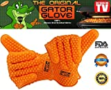 The Gator Glove-Best Heat Resistant Silicone Bbq And Grill Gloves-One Size Fits Most-Sold In Pairs