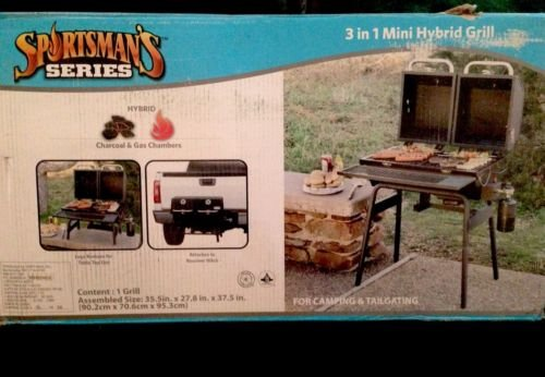 Sportsman'S 3-In-1 Mini Hybrid Grill