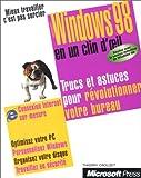 echange, troc Gilles Peigné - Microsoft Windows 98, en un clin d'oeil