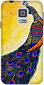 The Racoon Grip Colours in my wing hard plastic printed back case / cover for Samsung Galaxy S5 Mini