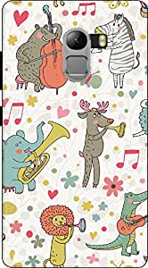 Premium Quality Mousetrap Printed Designer Full Protection Back Cover for Lenovo Vibe K4 Note