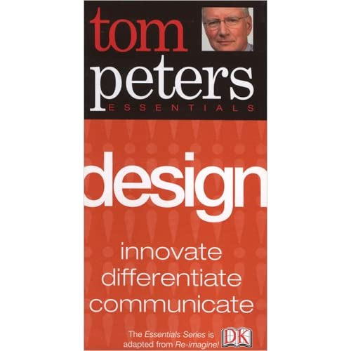 Even though Tom believes design is at the heart of business, he doesnt seem to think people judge a book by its cover. Which is why he designed it himself. In PowerPoint.