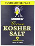 Morton Coarse Kosher Salt, 3 Pound