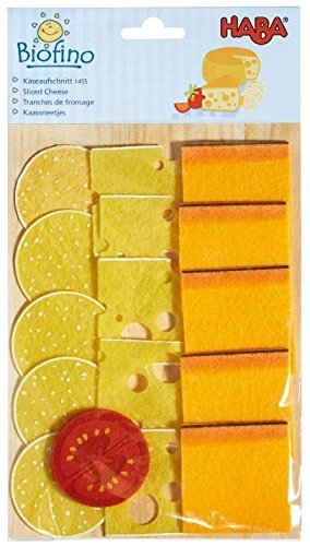 HABA Soft Biofino Sliced Cheese- Play food