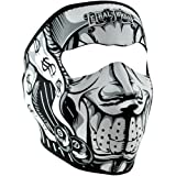 Search : Zan Headgear Men's Lethal Threat Jester Neoprene Full Face Mask
