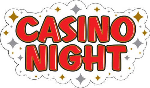 Casino Night Cutout