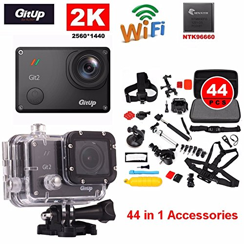 Boblov-Gitup-Git2-2K-30-fps-Novatek-96660-WiFi-camscope-action-sport-1080p-casque-sport-DVR-camra-tanche-avec-trousseau