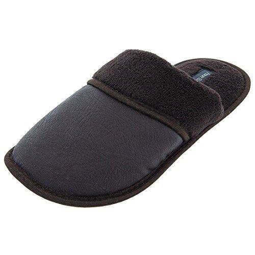 perry-ellis-mens-brown-slippers-xl-11-12