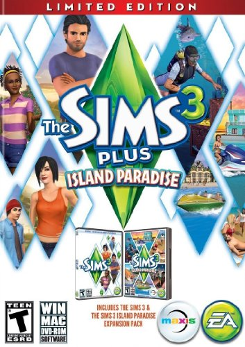 The Sims 3 Plus Island Paradise (Limited Edition) - PC/Mac