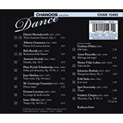 Dance back cover