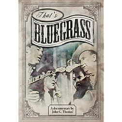That's Bluegrass