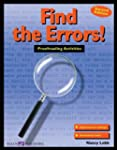 Find the Errors!: Proofreading Activi...