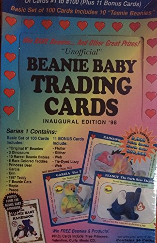 "beanie Baby Trading Cards Inaugural Editioin ""98"" - NEW"