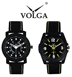 Volga Biggest Combo Offer For Mens Exclusive Watches with Diwali Offer For Boys and Mens