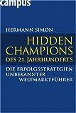 echange, troc Hermann Simon - Hidden Champions des 21. Jahrhunderts
