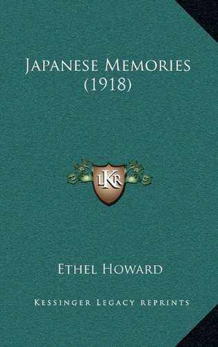 Japanese Memories (1918)