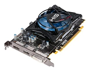 HIS H775F1GD Radeon HD 7750 1GB (128bit) GDDR5 Displayport HDMI DVI (HDCP) PCI Express X16 3.0 Graphics Cards