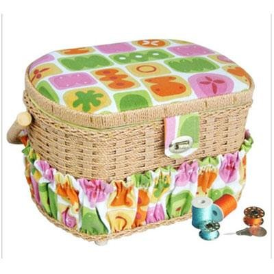 Buy Lil Sew 42pc Sewing Basket