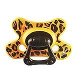 Difrax Extra Fuerte Chupete Natural (18 meses por encima del promedio, Leopard)