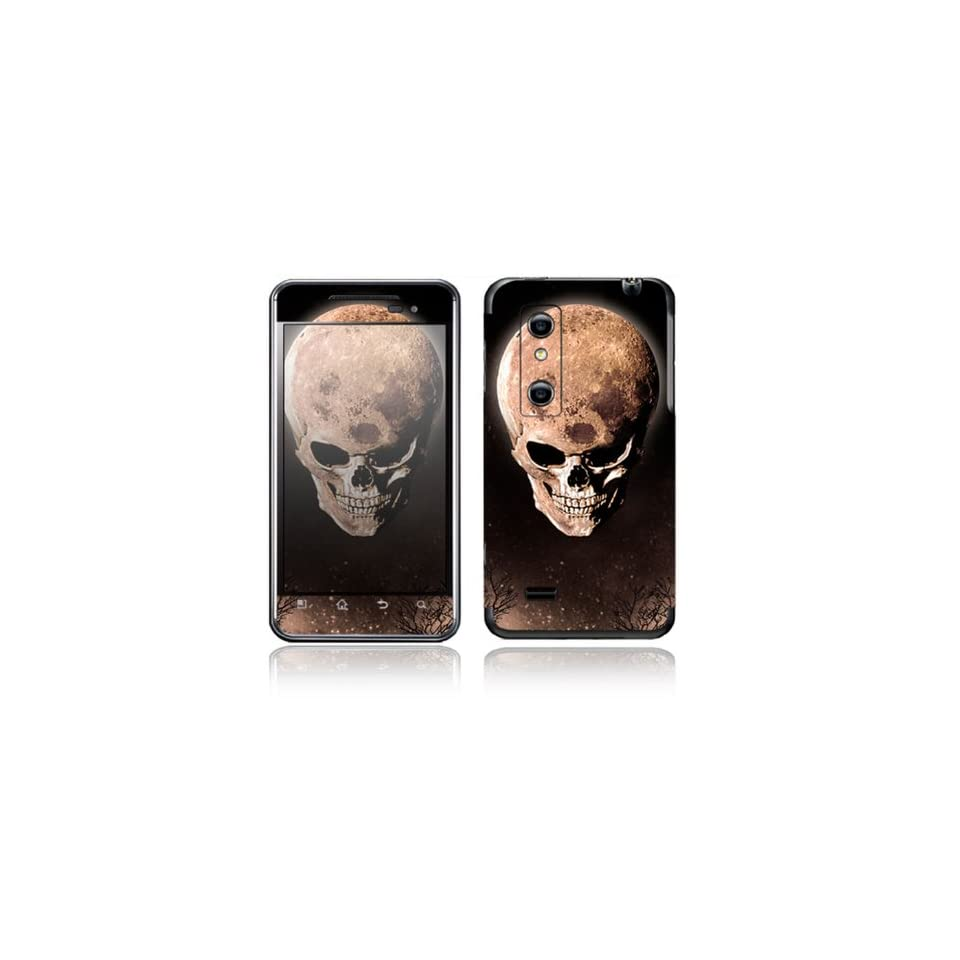 Bad Moon Rising Design Decorative Skin Cover Decal Sticker for LG Optimus 3D P920 Cell Phone