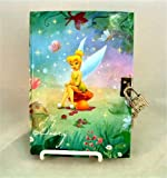 Tinkerbell My Diary with Lock and Key - Disney Fairies - Peter Pan Fairy Private Journal
