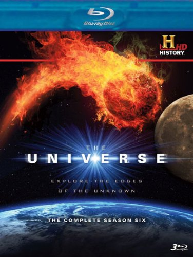 Cover art for  The Universe: The Complete Season Six [Blu-ray]
