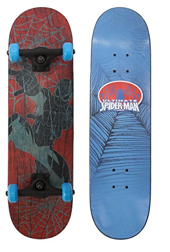 PlayWheels-Ultimate-Spider-Man-28-Complete-Skateboard-Web-Flyer-Graphic