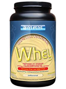 MRM All Natural Whey, Natural, 2.03 Pounds