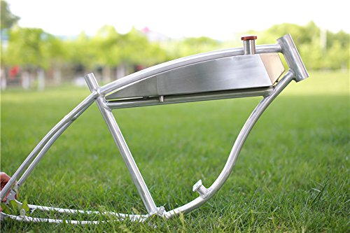 Stainless Steel Motorized Bicycle Fuel Tank For Schwinn Pant