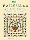 Rosemary Makhan Floral Abundance: Applique Designs Inspired by William Morris