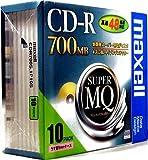 maxell データ用 CD-R 700MB 48倍速対応 10枚 5mmケース入 CDR700S.1P10S